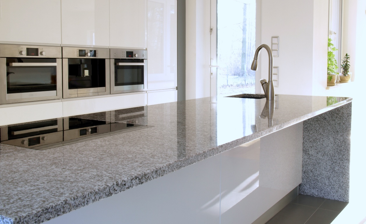 Granite Kitchen Work Tops Worktops On The Isle Of Wight By Linear Kitchens