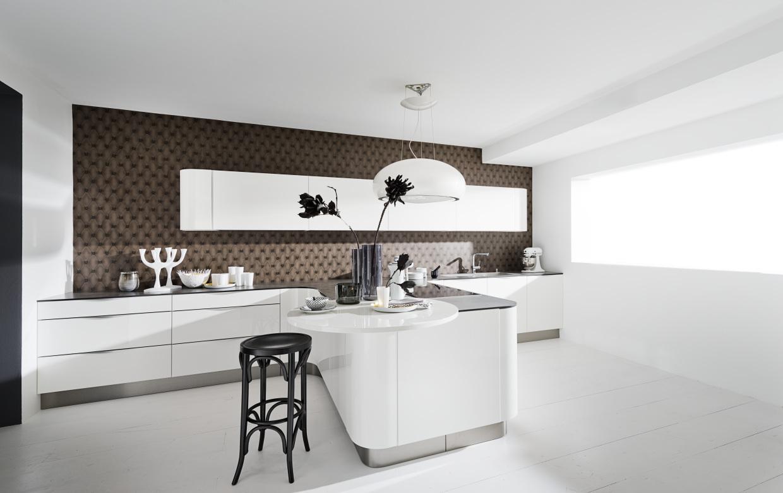 Dynamically Modern Linear Kitchen Designs
