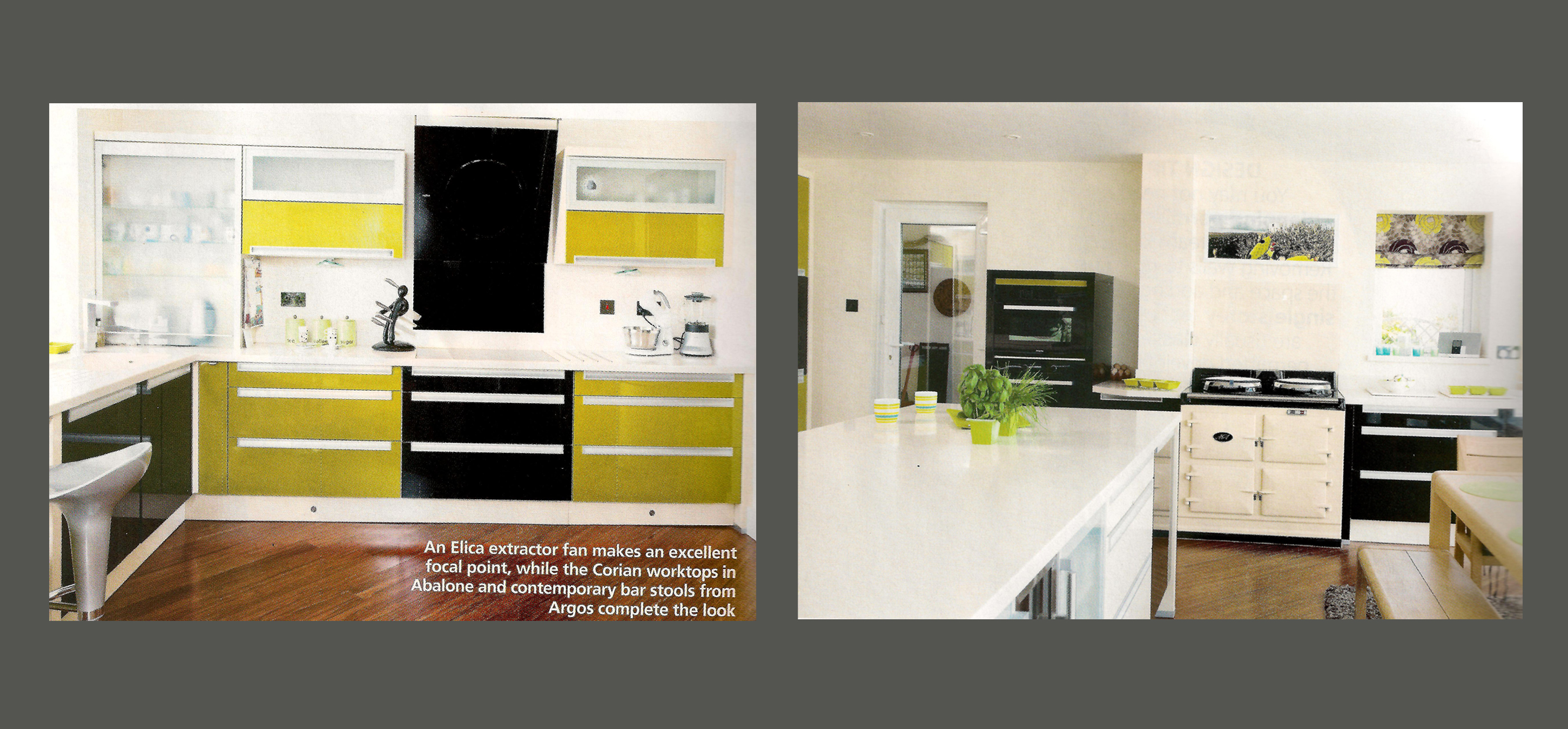 Linear Kitchen Designs provides the 'wow' factor in Real Homes ...