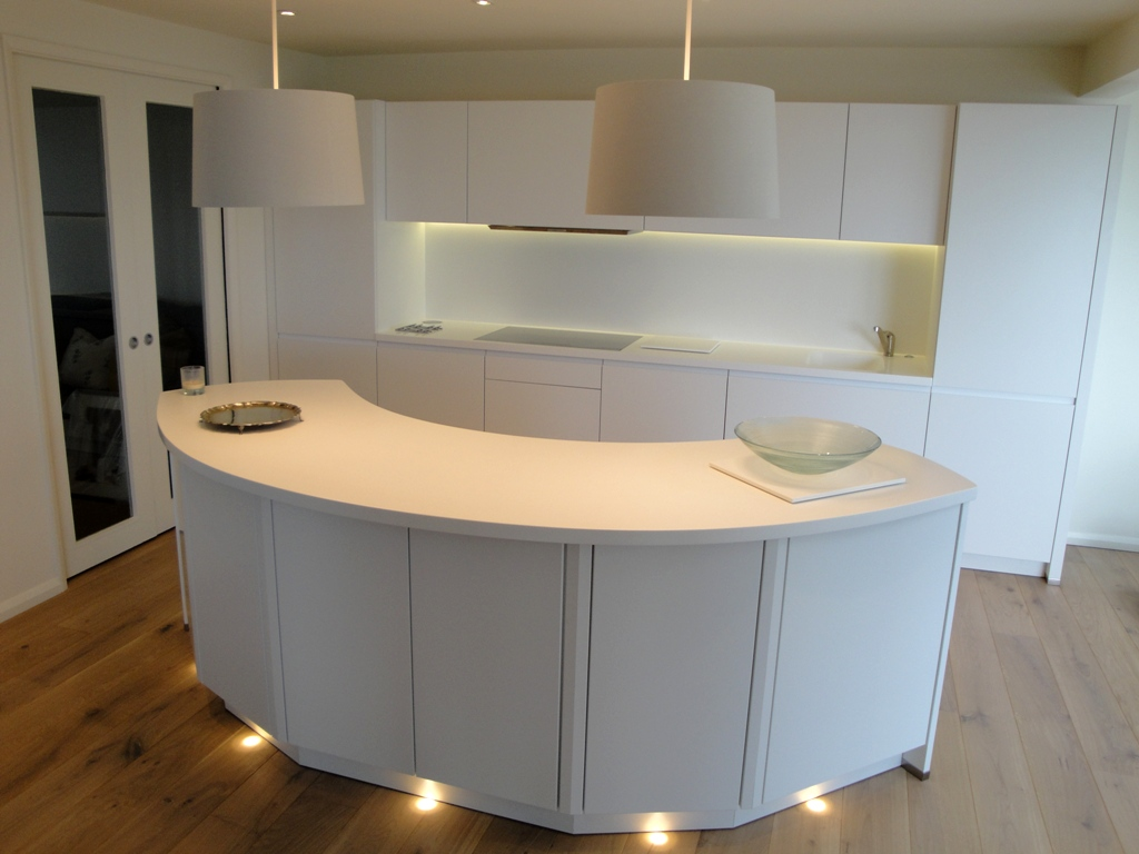 corian splashbacks linear kitchen designs