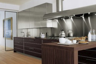 Splashbacks Linear Kitchen Designs
