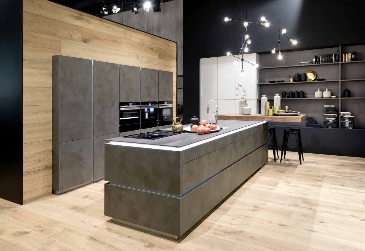 Dynamically Modern Linear Kitchen Designs