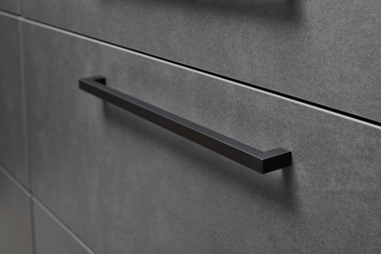 Metal - Stahl Grau / Lux - Weiß HG