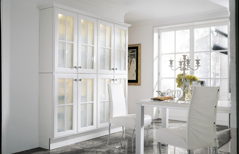 Elegance 340 - Weiß Hochglanz