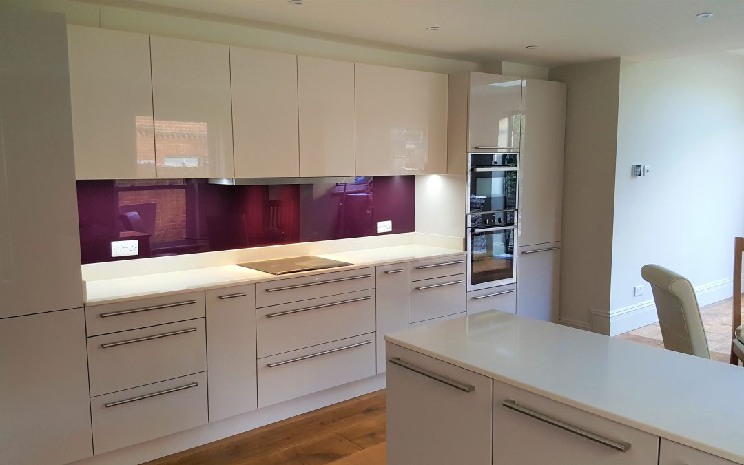 Modern Kitchen with a Splash of Colour