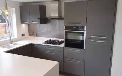 Integra Handles with Corian Worktop